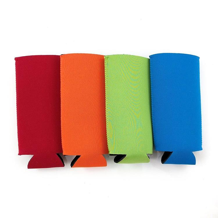 Portable neoprene can cooler holder slim