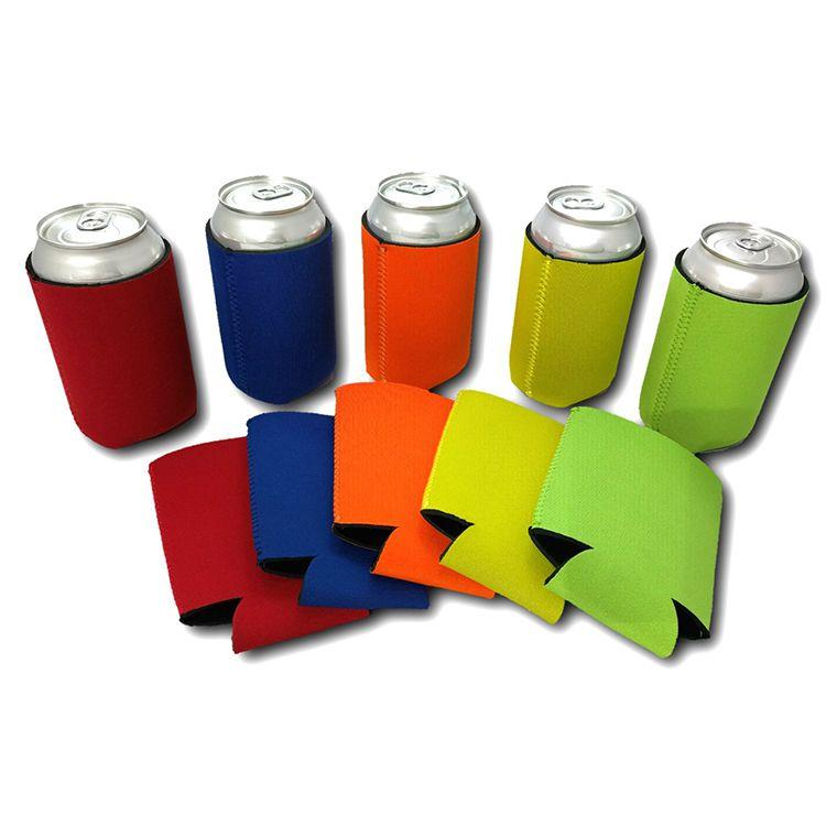 Wholesale Custom Neoprene Beer Can Cooler Holder