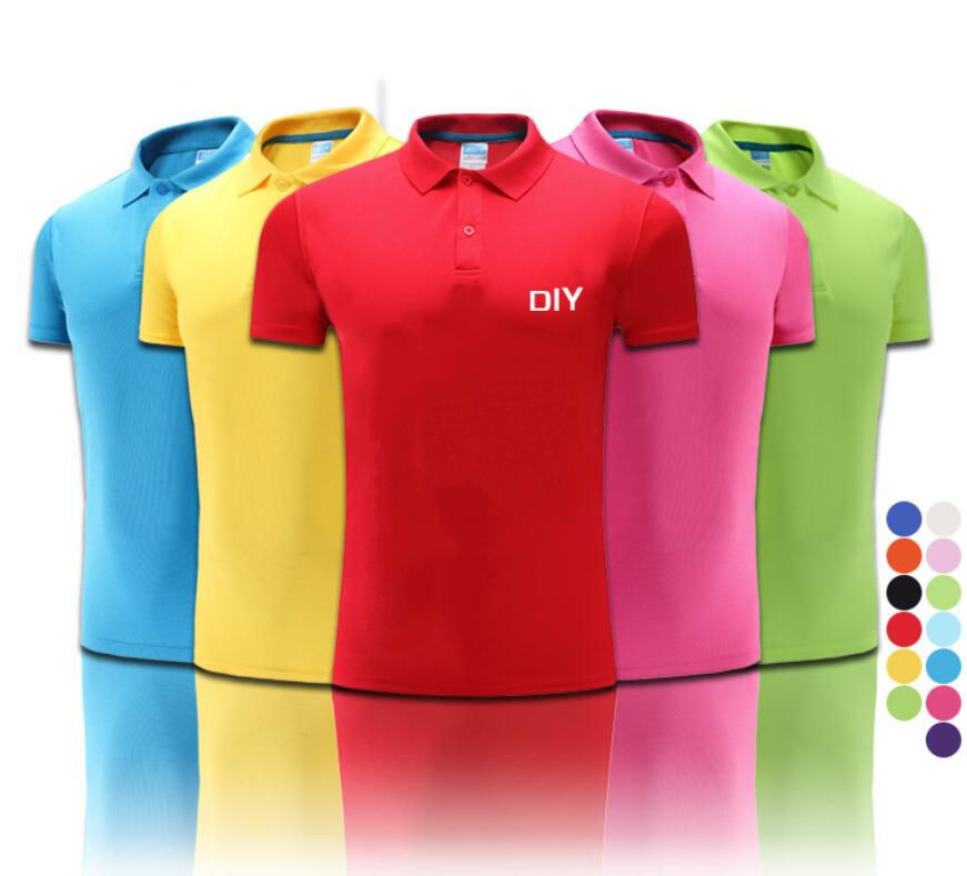 Chear promotional polo shirts customized logo for men