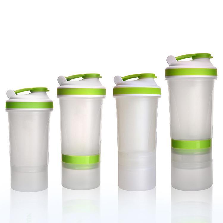 2017 OEM logo Smart bpa-free plastic protein 500ml shaker water bottle