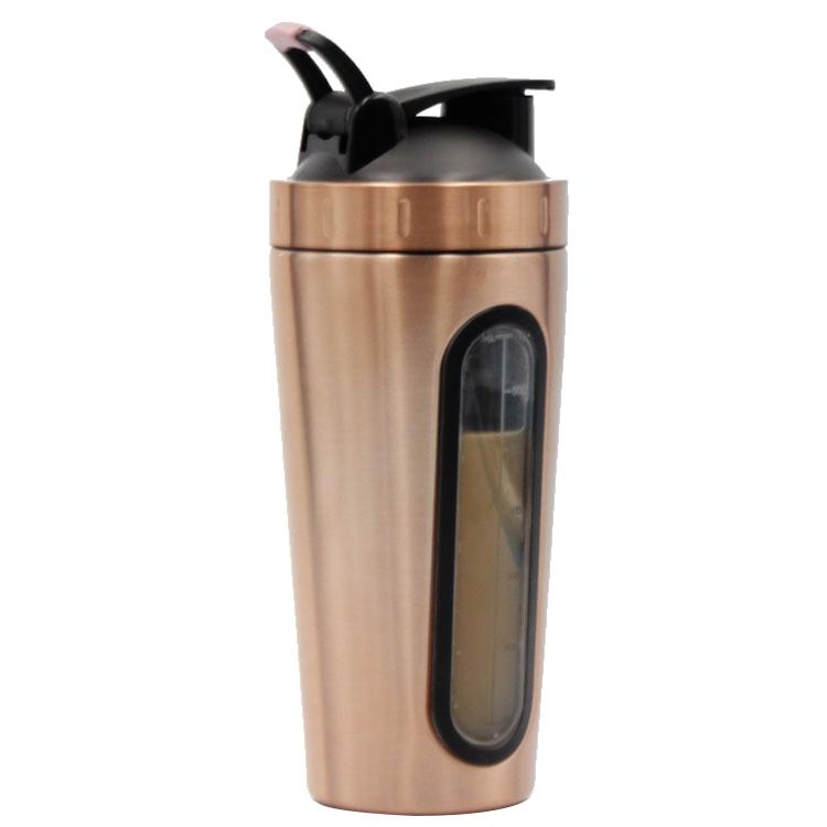 700ml Stainless Steel custom Sport Bottle protein Shaker Bottle