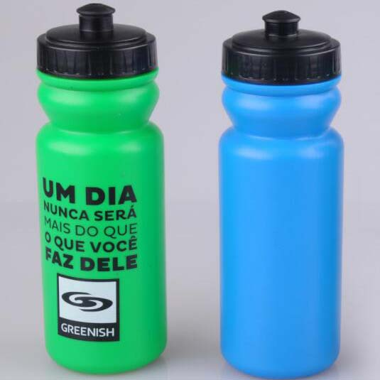 Promotional items Shenzhen 600ml HDPE Plastic Sport Water Bottle Bicycle water bottles