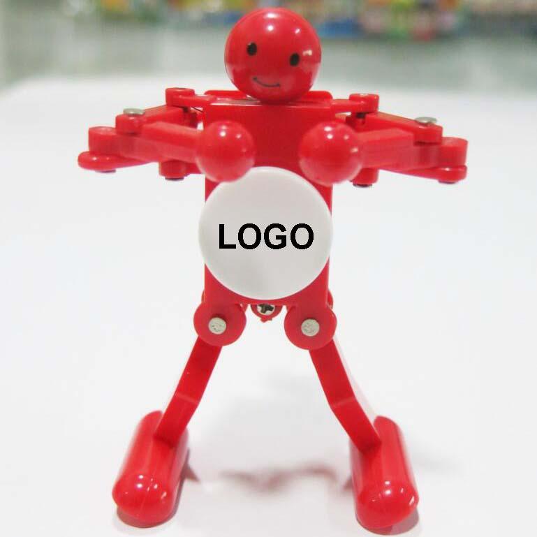 Promotion dancing wind-up robotic toys for kids