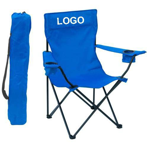 Foldable beach chair camping chair with armrest