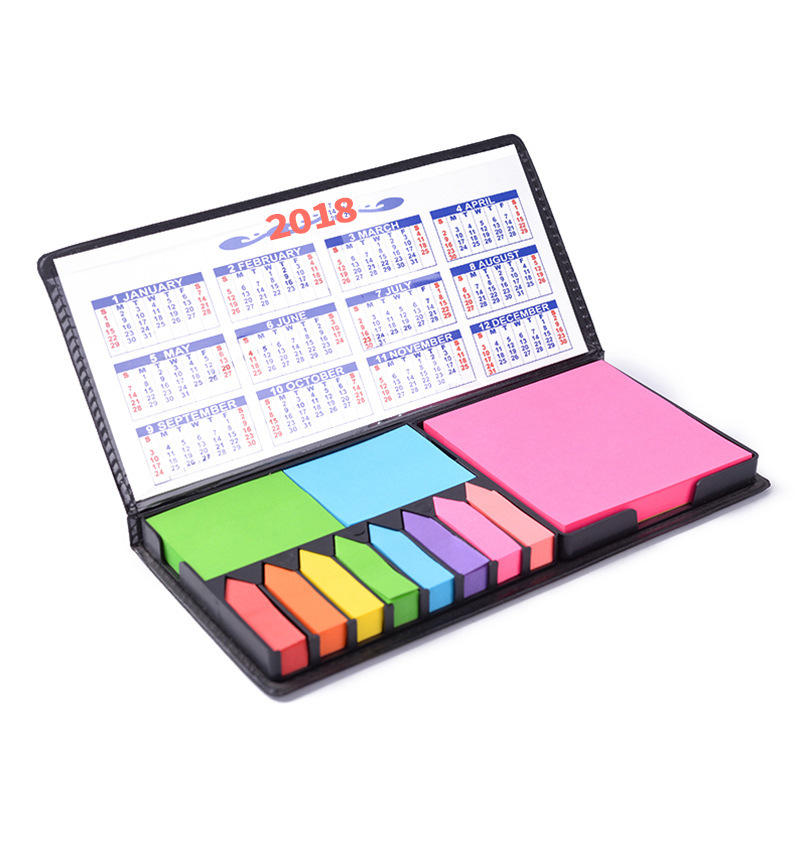 Wholesale Gift Custom Sticky Notes with PVC leather cover