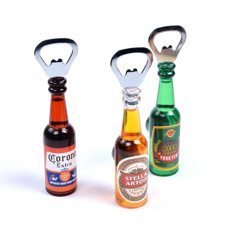 Latest Customized Souvenirs Beer Bottle Opener Acrylic Fridge Magnet