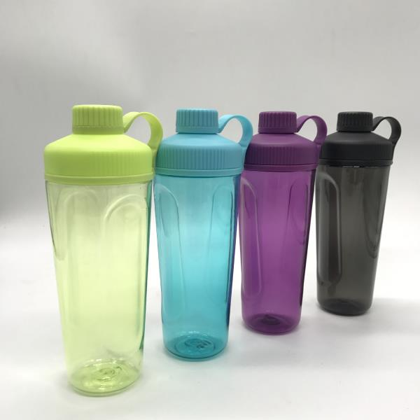 customized protein shake bottle with loop