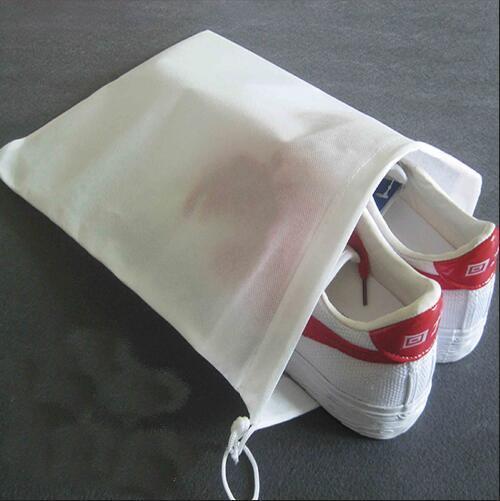 non woven drawstring shoe bag