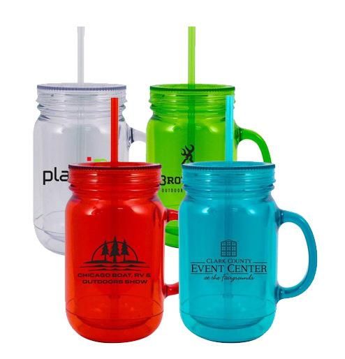 16oz Double layer mason cup for gifts Promotional items with logo