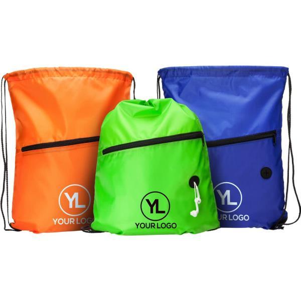 Custom Cheap Polyester Drawstring Bag