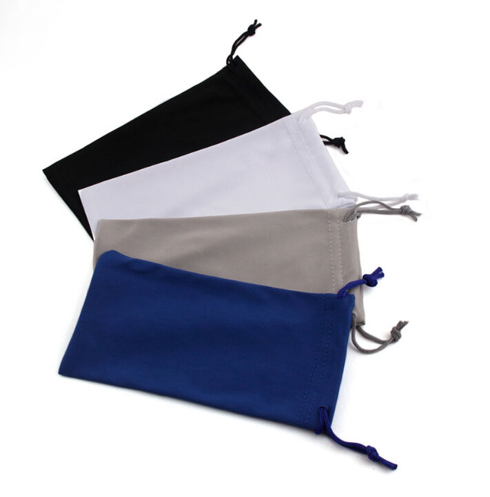 Microfiber Drawstring Glasses Bag/Pouch With Nice Price