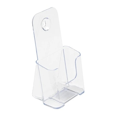 Wholesale Clear Premium Counter Top TriFold acrylic Plastic brochure racks stand holder