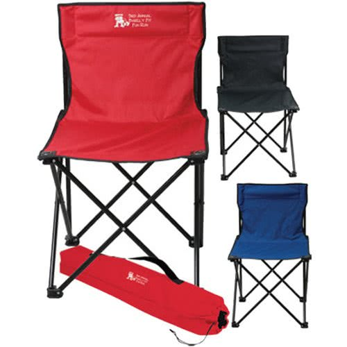 Outdoor folding beach camping chair with carry bag