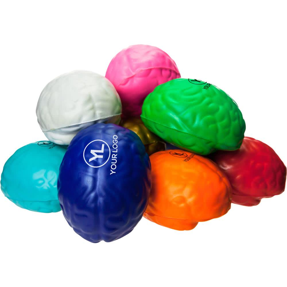 PU foam emoji ball anti stress brain reliever toy ball