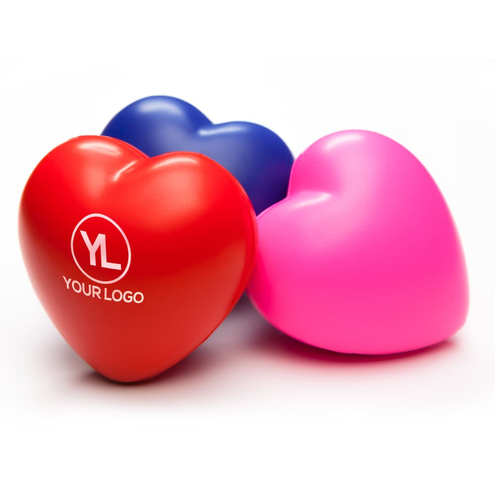 Promotional Customized High Quality Logo Printed PU stress reliever ball
