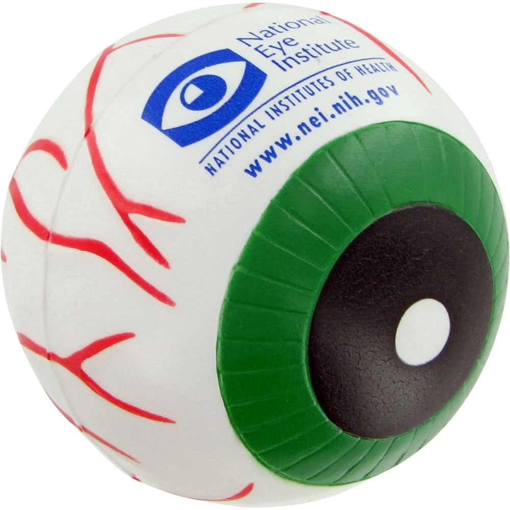 custom PU foam Eye Ball Stress Toy