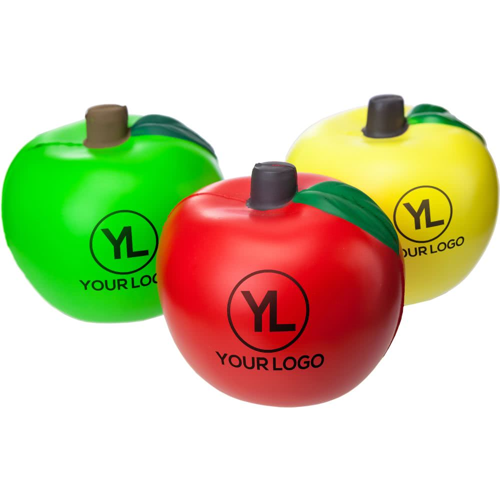 Promotional Apple PU Toy apple reliever for kids toy for infantile autism