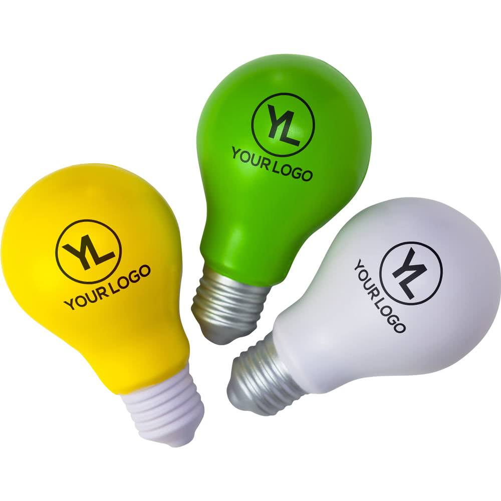 Wholesale PU Soft Toy Light Bulb Stress Ball