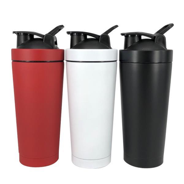 double Stainless Steel Shaker Bottle