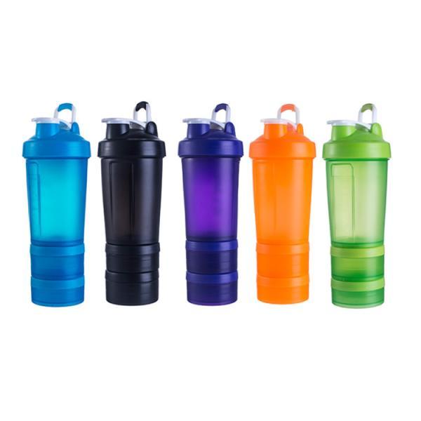Mixing Ball 500ML BPA Free Plastic Custom Wholesale Shaker Bottle
