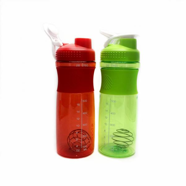 Eco-Friendly 760ml plastic custom shaker bottle