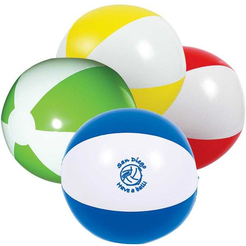 Promotional PVC Inflatable Beach Ball&Custom Beach Ball with Logo