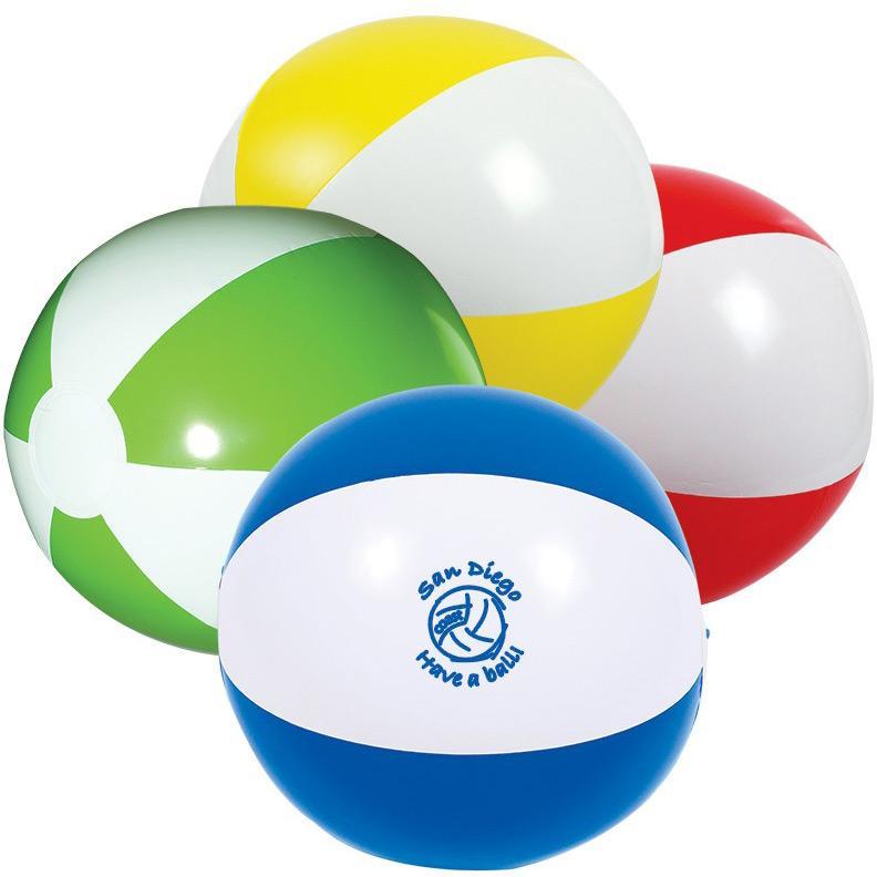 Promotional PVC Inflatable Beach Ball&Custom Beach Ball with Logo