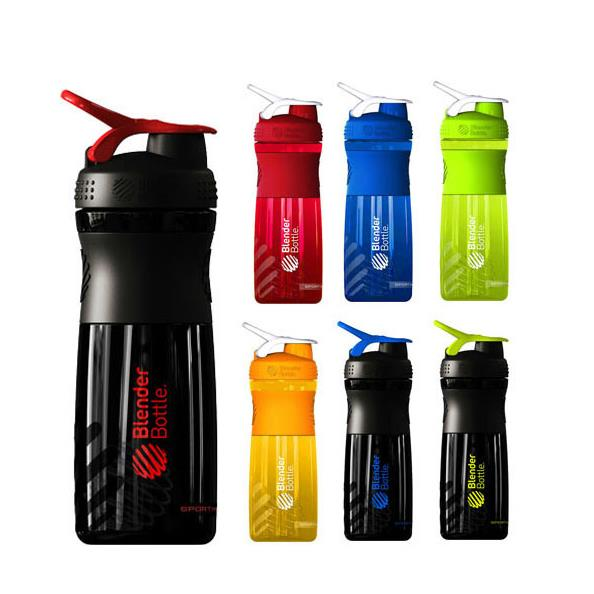 custom logo Travel cup protien shaker bottles plastic