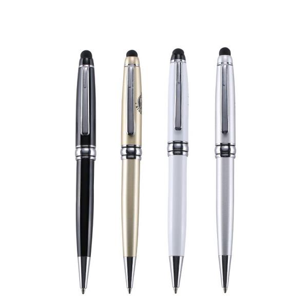 Customizable logo touch screen ballpoint pen