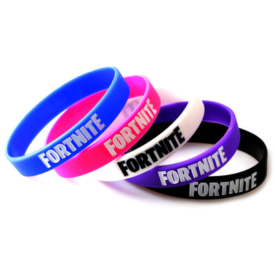 custom Fortnite silicone wristbands