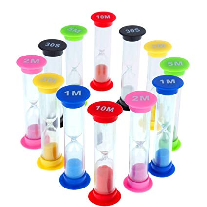 factory wholesale colorful custom sand timer