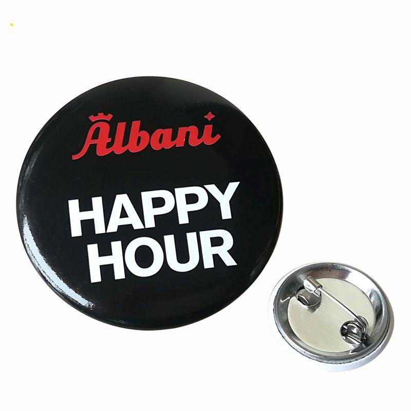 Custom lovely cartoon halloween souvenir badges button pins
