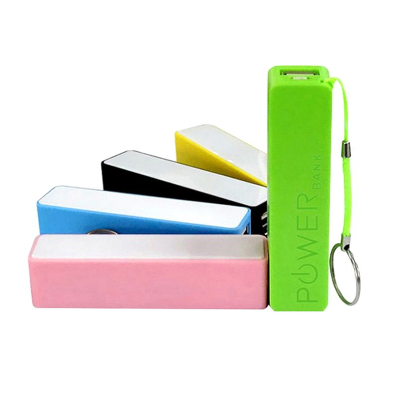 2019 New Promotional Gift Consumer Electronics Travel Power Bank 2600mah