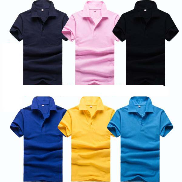 65% Polyester 35% Cotton Custom Printing Mens Polo Shirt