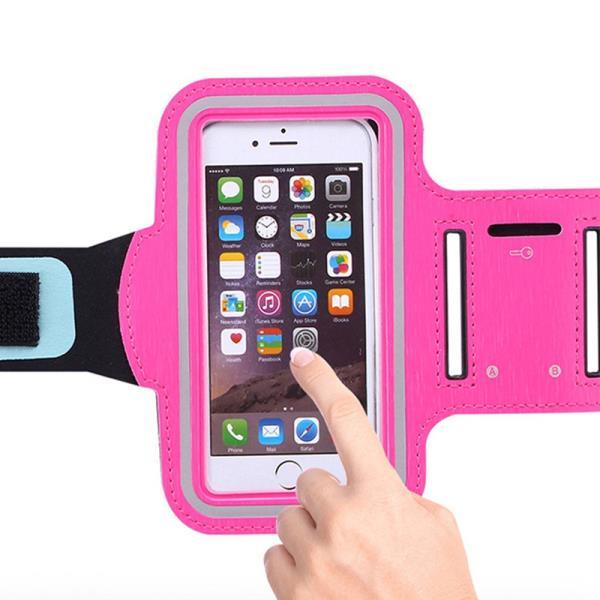 Waterproof Custom Neoprene Mobile Cell Phone Running Sport Armband Arm Bag Case