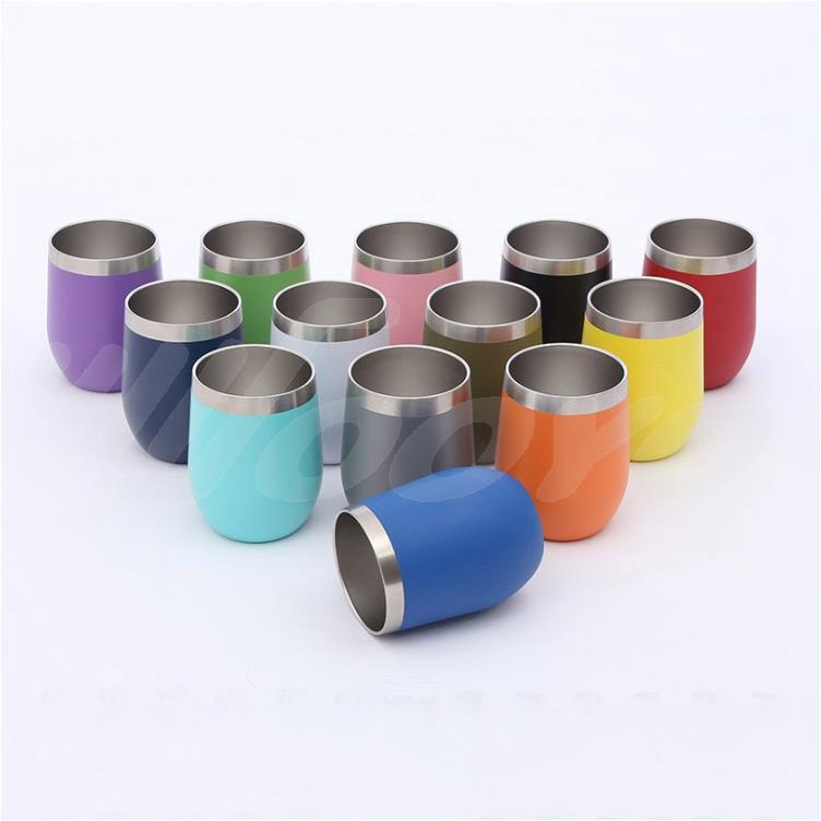 Reusable Stainless Steel Double Sublimation Insulated Travel Coffee Cup Mug