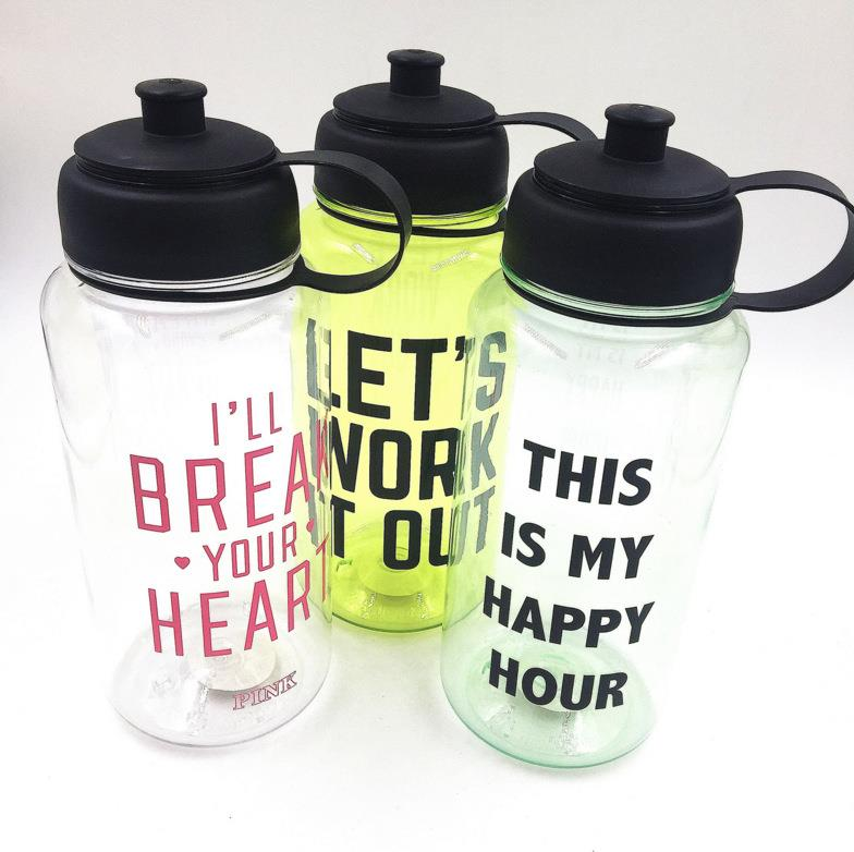 1L space Cup Hand cup Portable kettle Sports fitness kettl