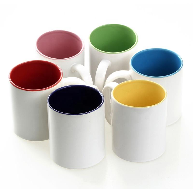 Promotional 11oz Color Inside Ceramic coffee Mug