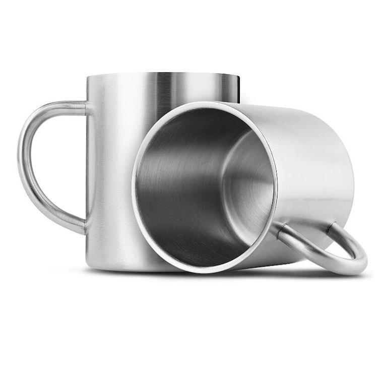 450ml stainless steel double wall custom coffee mug/cup