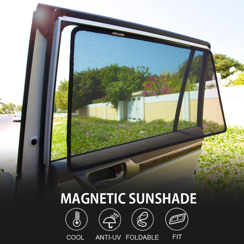 Summer Season Protector Mesh Magnetic Car Sunshade for Most of Car