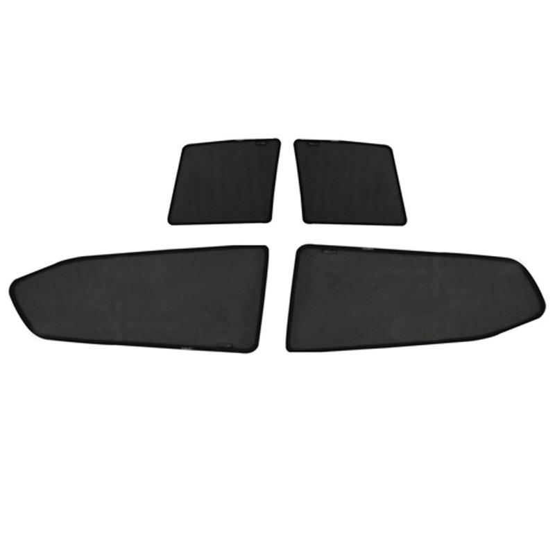 4PCS Magnetic mesh fabric car sunshade,customize car sunshade privacy shade for Accord