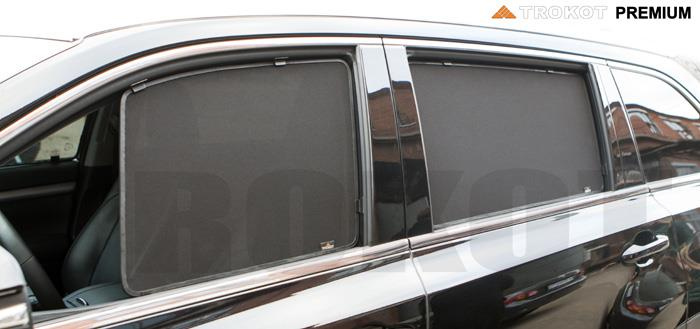 Side Door Sun Shade Window Car Curtain customize car rolling sunshade 7 pieces all cover for car model for Cadillac customized