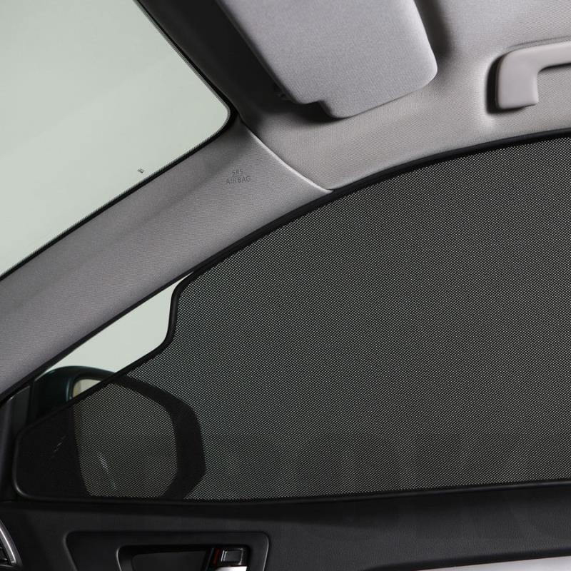 Exclusive designed Magnets installed car mesh sunshade,lasershades,sunblinds for car