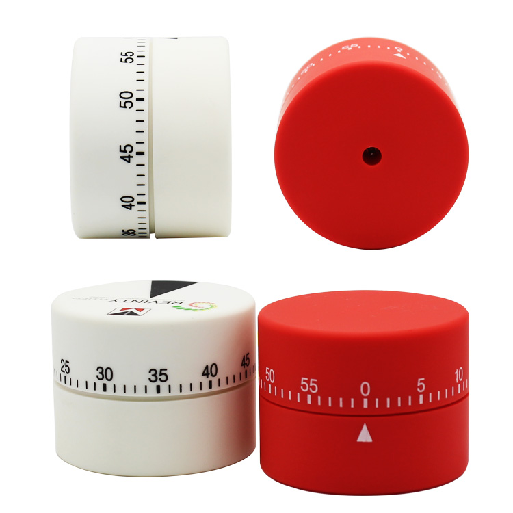Cylindrical Shape Kitchen Mechanical Countdown Timer