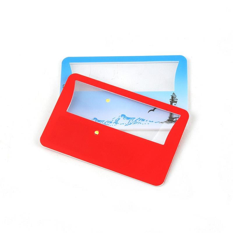 New Wallet Credit Card Size  Optical Magnifier