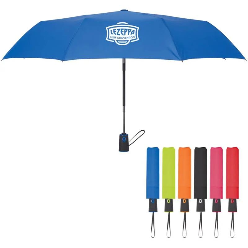 folding custom umbrella