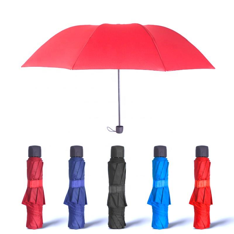 Folded Compact Promotional Rain Wholesale Umbrella
