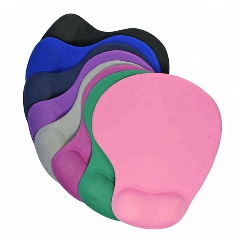 memory cotton wrist mousepad cute solid household mouse wristbands silicone wrist pad