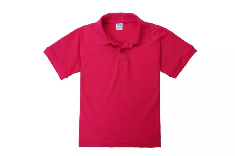 Lapel kids polo shirts of pure 100%cotton