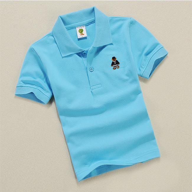 Wholesale new casual kids boys polo shirts